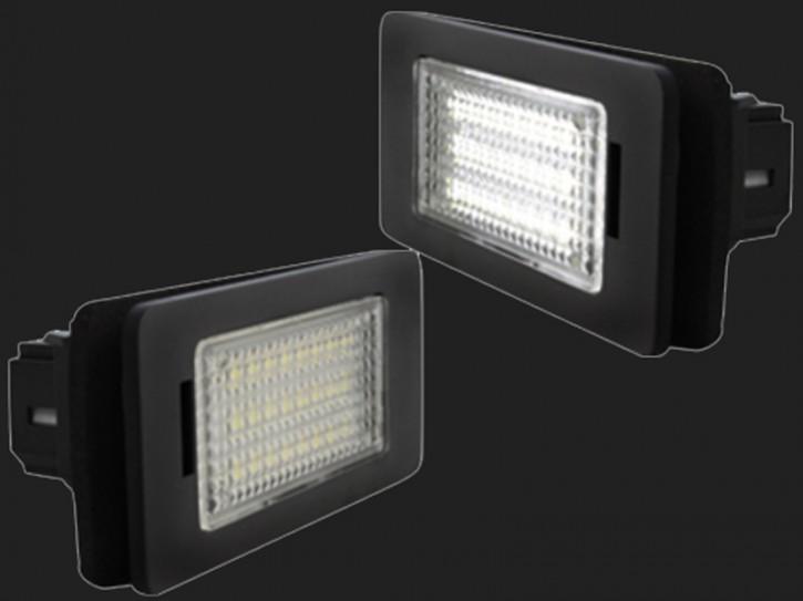 dectane LED Kennzeichenleuchten BMW E82, E88, E70, E90, E91, E92, E93