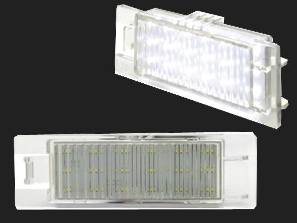 dectane LED Kennzeichenleuchten OPEL Zafira B 05-11, Astra H 04-09, Corsa D 06+11, Insignia 08+