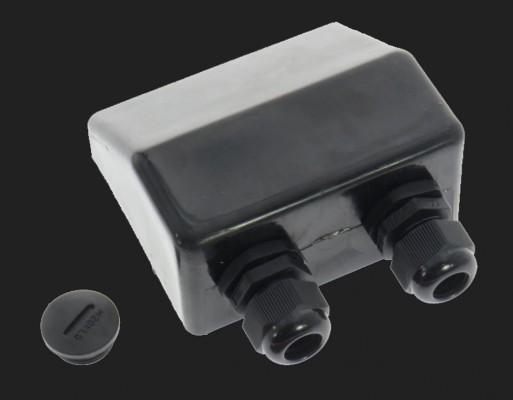 Dietz Kabel-Dachdurchführung DUO, M20 Verschraubung, für 5-12 mm, schwarz