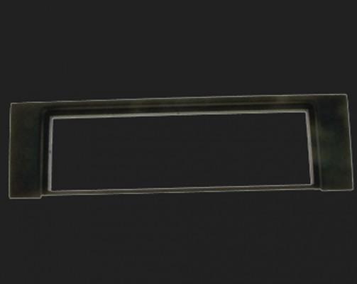 Dietz Radioblende 1-DIN für AUDI A4 B6 (11/2000 - 12/2004), Cabrio bis 12/2005 in schwarz
