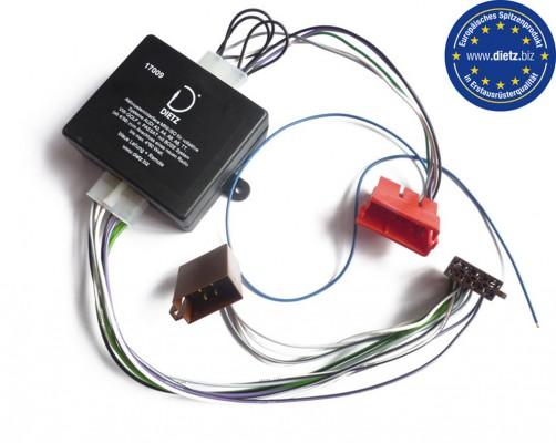 Dietz Aktivsysteminterface AUDI /ASTON MARTIN /PORSCHE /VW MINI-ISO (4x50Watt)