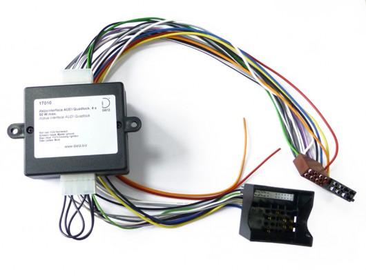 Dietz Aktivsysteminterface AUDI Quadlock (4x50Watt)
