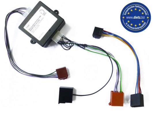 Dietz Aktivsysteminterface VW NOKIA DSP bis 4/98 (4x50Watt)