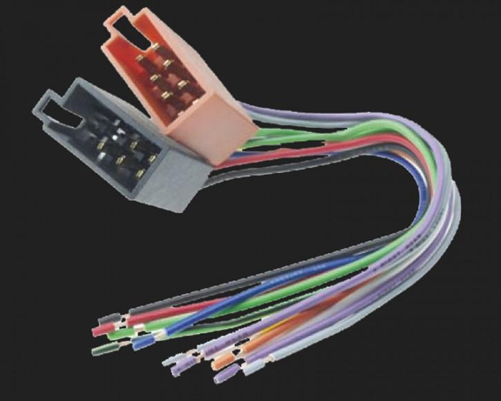Dietz FLE auf ISO Strom- & Lautsprecher-Stecker
