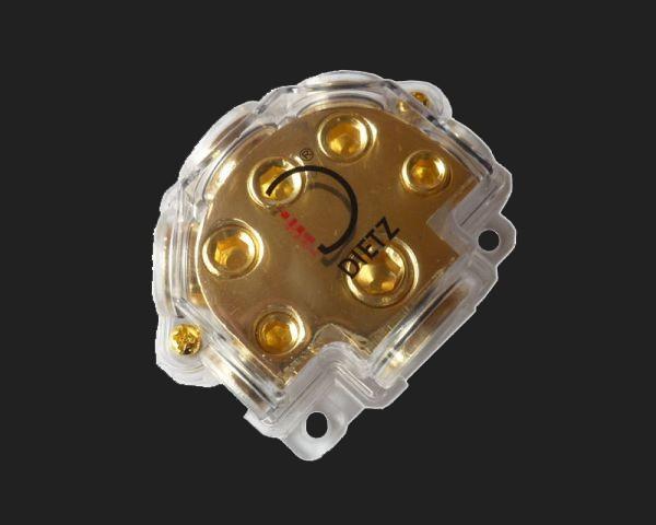 Dietz Verteilerblock, 1x35-50 mm² auf 3x20 + 2x10 mm²