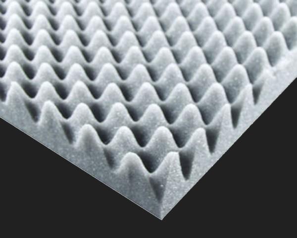 Dietz Noppenschaumstoff 100x50x5cm in grau