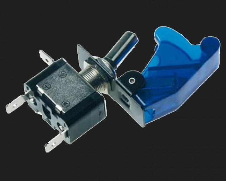 Dietz Schalter blau 12V/24V (5A/10A) mit blauer LED