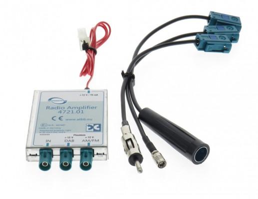 Dietz Profi DAB/ FM Splitter - DIN Stecker - DIN Buchse - SMB Buchse