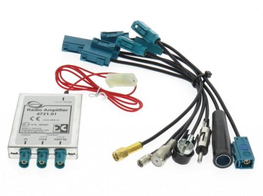 Dietz Profi DAB/ FM Splitter - alle Adapter DIN/ ISO/ FAKRA/ SMA/ SMB