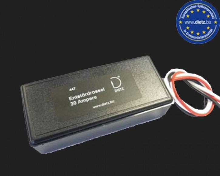 Dietz Entstördrossel 30 Ampere (12V)