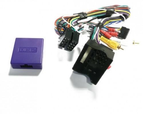 Dietz Lenkradinterface / CAN BUS für AUDI Quadlock A3(05-12), A4(05-15), A6(04-11) TT(04-11)
