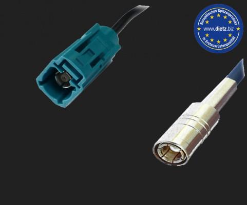 Dietz Antennenadapter FAKRA Buchse - SMB Buchse (DABSPL)