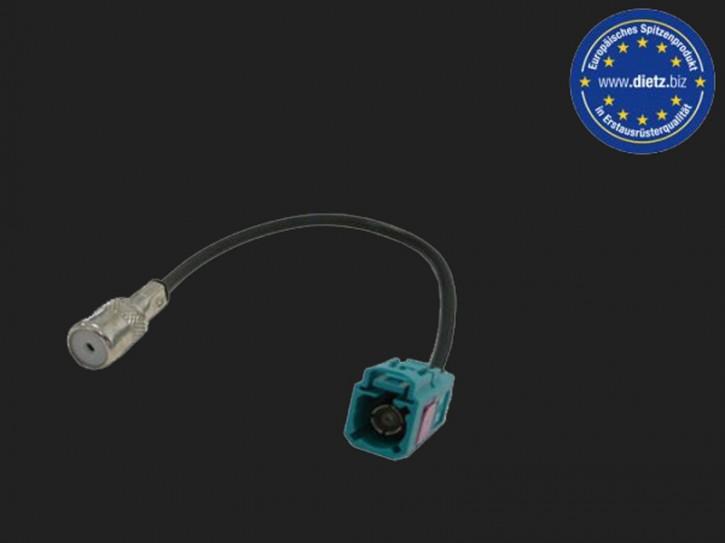 Dietz Antennenadapter FAKRA Buchse- ISO Buchse (DABSPL)