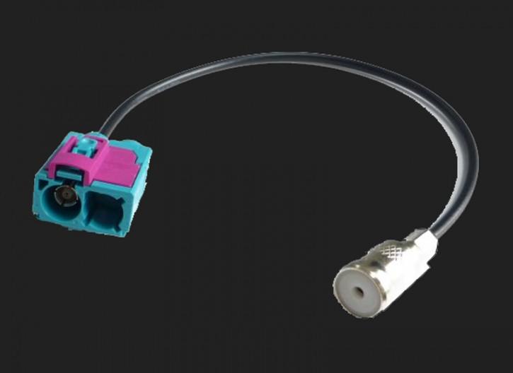 Dietz Antennenadapter ISO Buchse - Doppel FAKRA Buchse