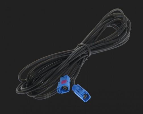 Dietz Verlängerung GPS blau, FAKRA Buchse-FAKRA Buchse, 500 cm