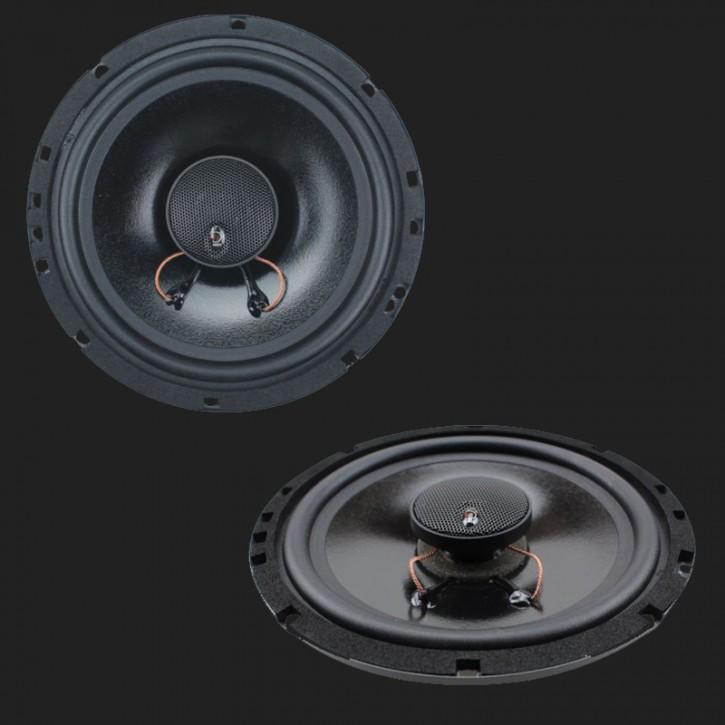 """Dietz """"CX-160F"""" 2-Wege Koax-Lautsprecher-Set FLAT 6,5""""(16cm) Max.Power 85 Watt"""