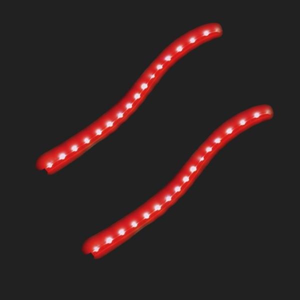 Pilot LED Flexstripe rot 21 LED 2 x 50cm 12V wasserfest