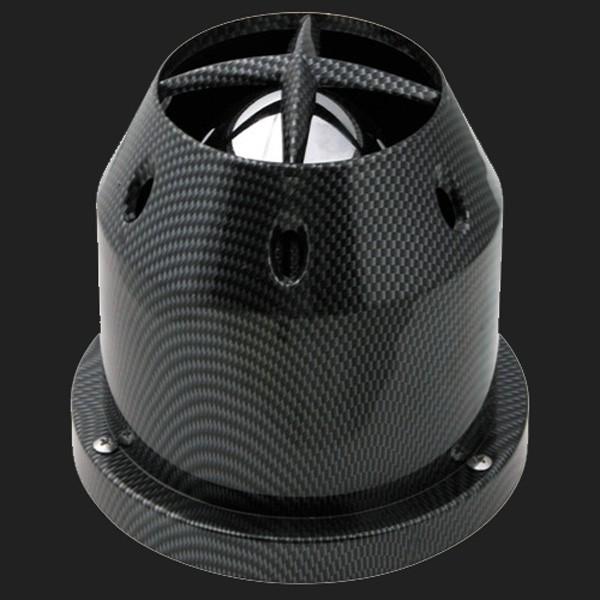 Pilot Universal Sport-Luftfilter Carbon-Look inkl. Adapter von 60 -114mm