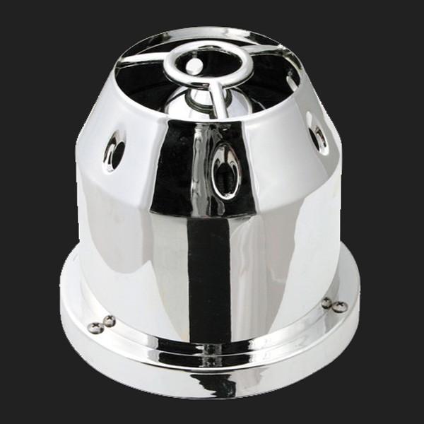 Pilot Universal Sport-Luftfilter Chrom-Look inkl. Adapter von 60 -114mm