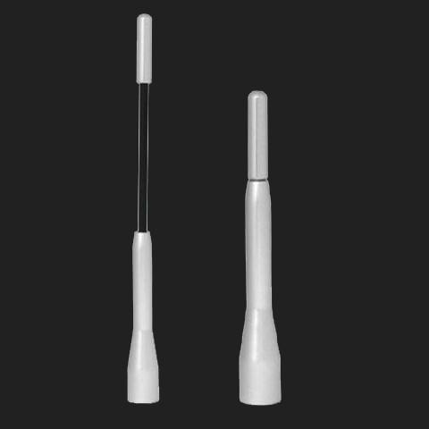 Pilot Aluminium Teleskop-Ersatzantenne 11 oder 19 cm lang silber