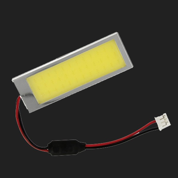 Pilot Mega-Led Platine (36 Chips COB)  20x60mm 10-30V in weiss