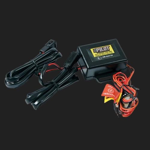Pilot LED Tagfahrlicht-Steuerung mit Kabelsatz 12/24V (Abverkauf)