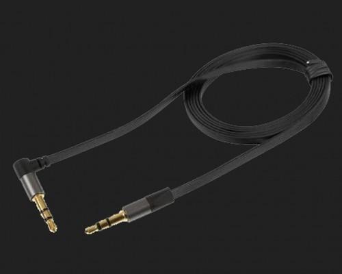 LAMPA Klinkekabel abgewinkelt mit 3.5mm Stecker vergoldet Länge:120cm