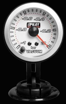 Pilot Zusatzinstrument Race Unterdruckanzeige 52mm 7-Farben 12V