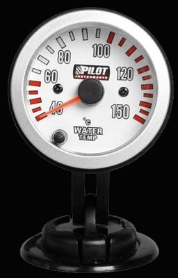 Pilot Zusatzinstrument Race Pro Kühlwassertemperatur 52mm 7-Farben 12V
