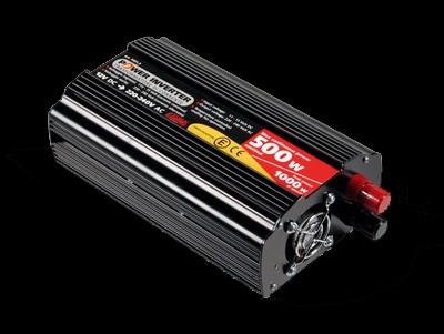 Lampa Spannungswandler 12V->230V  500W Dauerlast