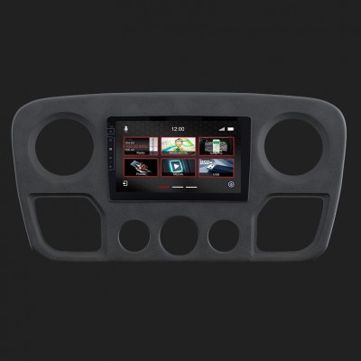 """DYNAVIN 9""""(22,8cm) Multimediagerät """"X-Series"""" für Renault Master inkl. i-GO Navisoftware"""
