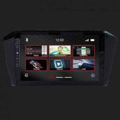 "DYNAVIN 9""(22,8cm) Multimediagerät ""X-Series"" für VW Passat B8 inkl. i-GO Navisoftware"