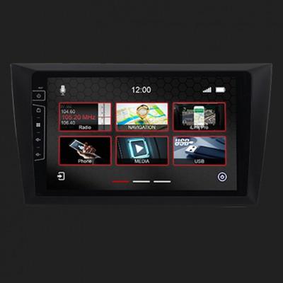 "DYNAVIN 9""(22,8cm) Multimediagerät ""X-Series"" für VW Golf 6 inkl. i-GO Navisoftware"