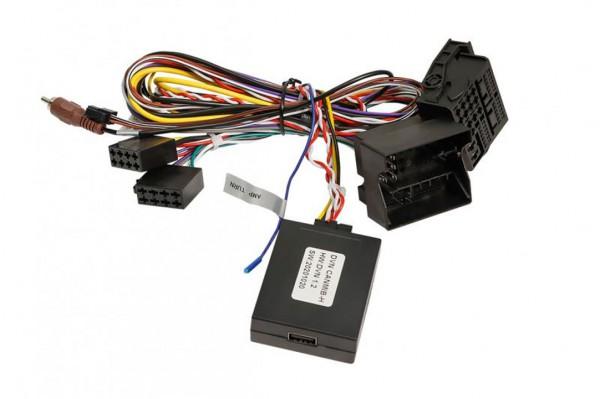 DYNAVIN Assistenz-Adapter für VW Skoda MIB Plattform zur Beibehaltung der Verkehrsschilderkennung und Spurhaltassistenz