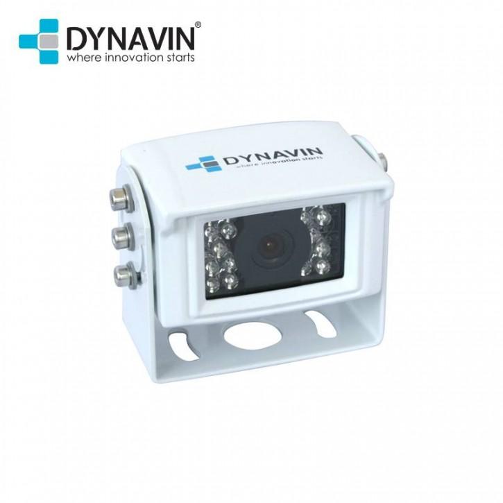 DYNAVIN Rückfahrkamera Universal Aufbau Metall weiss (12V)