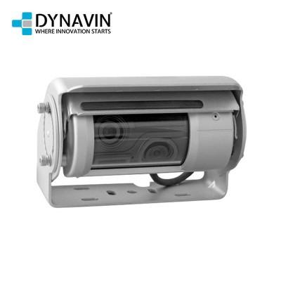 DYNAVIN Rückfahrkamera Universal Aufbau Metall Doppel-Shutter-Rückfahrkamera mit Scheibenwischer, Heizung, Mikrofon und Infrarot-Dioden