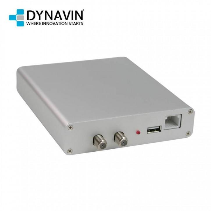 DYNAVIN DVB-T2 Tuner (Nur für N7 DYNAVIN Multimediageräte) inkl. Antennen