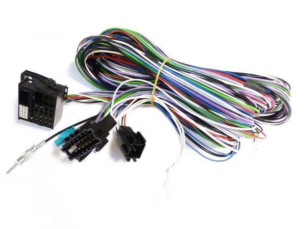 DYNAVIN Kabel für Mercedes E-Klasse ( W211 02-08)/ CLS (W219 04-11) Most für Dynavingerät DYN-DVNMBE (Nur für D99/D99+ Plattform)