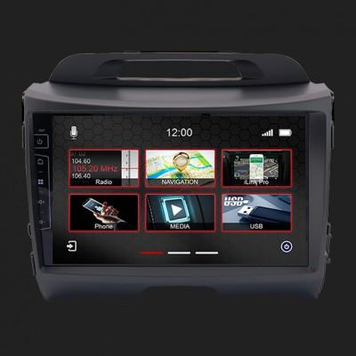 "DYNAVIN 10""(25,4cm) Multimediagerät ""X-Series"" für Kia Sportage 2010-2015 inkl. i-GO Navisoftware"