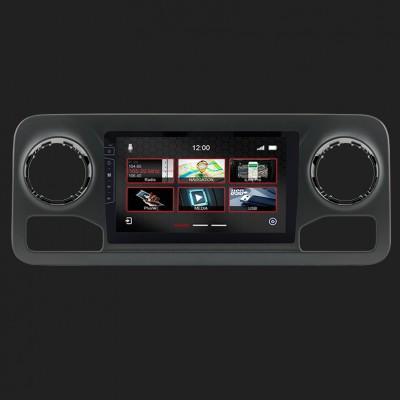 "DYNAVIN 10""(25,4cm) Multimediagerät ""X-Series"" für Mercedes Benz Sprinter ab 2018 (W907) inkl. i-GO TRUCK Navi & DAB+"