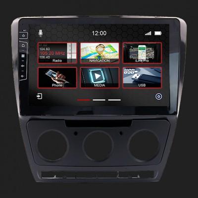 """DYNAVIN 10""""(25,4cm) Multimediagerät """"X-Series"""" für Skoda Octavia II 2009-2013 inkl. i-GO Navisoftware"""