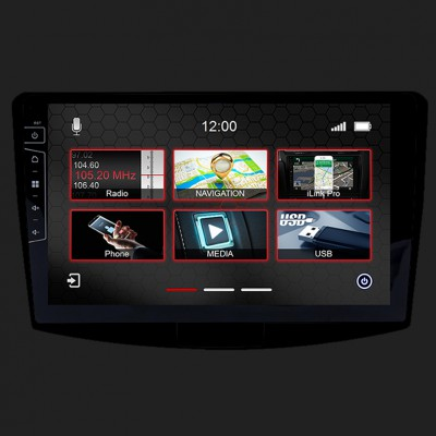 "DYNAVIN 10""(25,4cm) Multimediagerät ""X-Series"" für VW Passat B7 / B6 in schwarz inkl. i-GO Navisoftware"