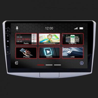 "DYNAVIN 10""(25,4cm) Multimediagerät ""X-Series"" für VW Passat B7 / B6 in silber inkl. i-GO Navisoftware"