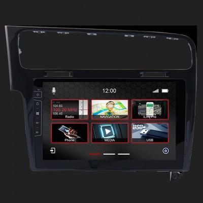 "DYNAVIN 10""(25,4cm) Multimediagerät ""X-Series"" für VW Golf 7 in schwarz inkl. i-GO Navisoftware"