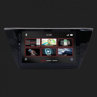 "DYNAVIN 10""(25,4cm) Multimediagerät ""X-Series"" für VW Touran ab 2015 inkl. i-GO Navisoftware"