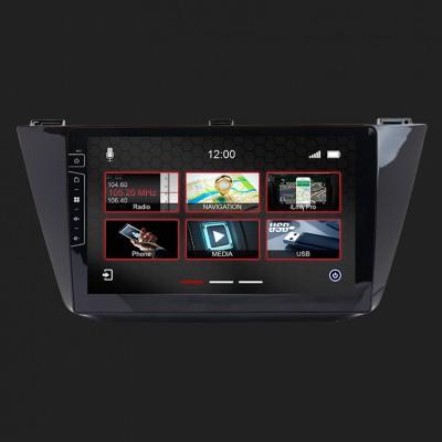 "DYNAVIN 10""(25,4cm) Multimediagerät ""X-Series"" für VW Tiguan ab 2017 inkl. i-GO Navisoftware"