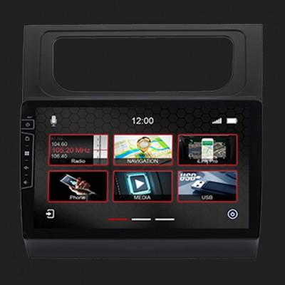 "DYNAVIN 10""(25,4cm) Multimediagerät ""X-Series"" für VW Touran 2011-2015 in schwarz inkl. i-GO Navisoftware"