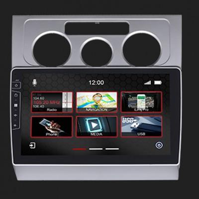"DYNAVIN 10""(25,4cm) Multimediagerät ""X-Series"" für VW Touran 2006-2011 in silber inkl. i-GO Navisoftware"