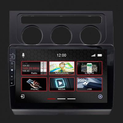 "DYNAVIN 10""(25,4cm) Multimediagerät ""X-Series"" für VW Touran 2006-2011 in schwarz inkl. i-GO Navisoftware"