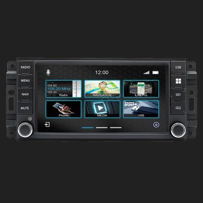 "DYNAVIN 7""(17,8cm) Multimediagerät ""N7 PRO"" für Jeep Wrangler 2007-2017 inkl. i-GO Navisoftware und 16GB MicroSD"